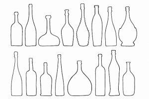 ワインボトルの種類,ワインボトルのサイズ