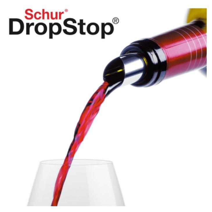 ドロップストップ シルバー (2枚入)-Schur DropStop