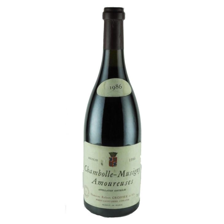 ロベール・グロフィエ シャンボール・ミュジニー 1er クリュ レ・ザムルーズ 1986