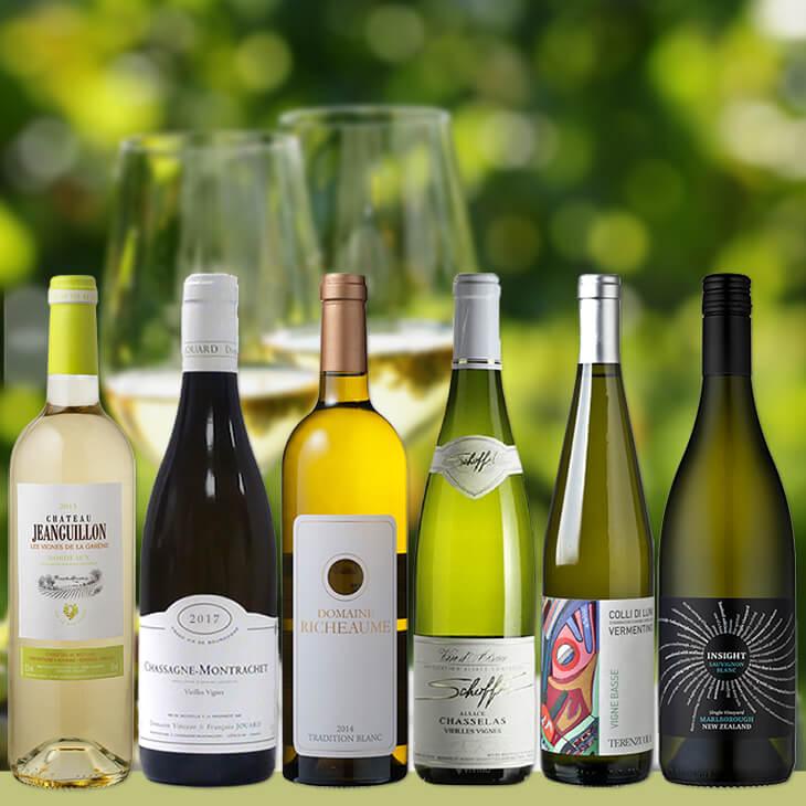 アカデミー・デュ・ヴァン直輸入白ワイン6本セット【送料無料】同時購入商品も送料無料