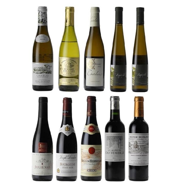 【 2020年度 ソムリエ・ワインエキスパート二次試験対策ワインセット第1弾】基礎力UP!!最重要 基本品種セット(10本)【送料・クール便代込み】