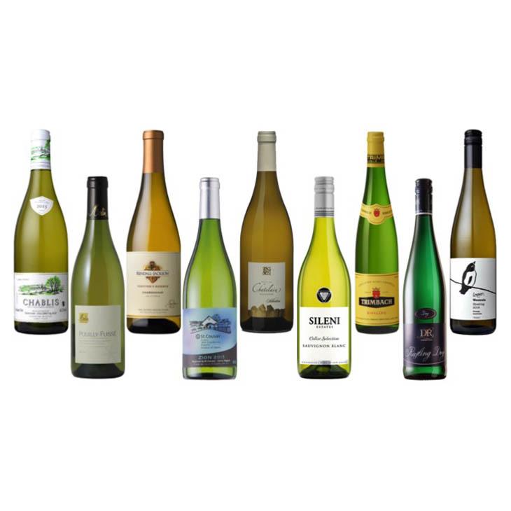 【第4弾】産地比較で覚える白ワイン重要品種セット