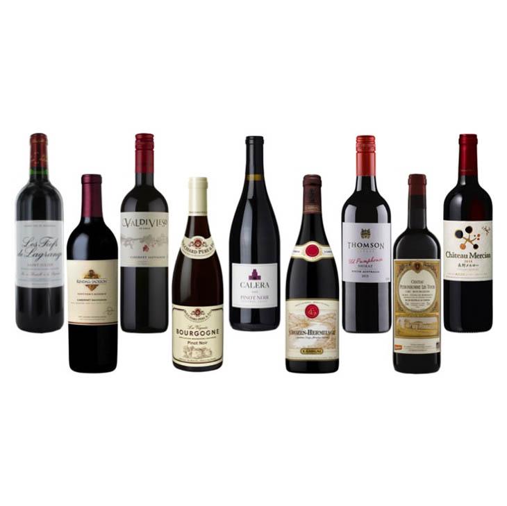 【第5弾】産地比較で覚える赤ワイン重要品種セット